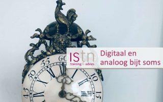 verkooptraining: digitaal en analoog bij soms