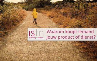 Als jet het hoofdmotief weet, kan je jouw product of dienst krachtiger presenteren aan de klant! Lees deze verkooptip van ISSTN