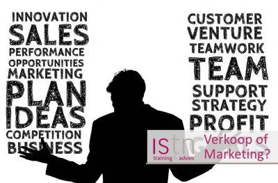 Verkoop of marketing? Wie is het belangrijkste?